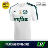 Nova Camisa Palmeiras Branca Original 2019 Frete Grátis