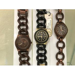 Relógios Euro Originais. Nota Fiscal, Um Ano De Garantia