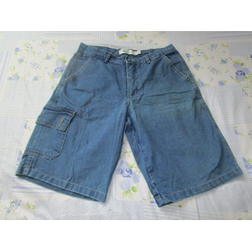 Bermuda Masculina Jeans Kaekos Tamanho 40 Cod01