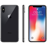 Iphone X 64 Gb Lacrado Original Apple 1 Ano De Gar.+brindes