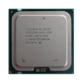 Procesador Intel Pentium E5300 De 2.5ghz 2mb Dual-core Lga77