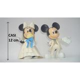 Mickey Y Minnie Mouse Novios Figura Muñecos Para Torta Perco