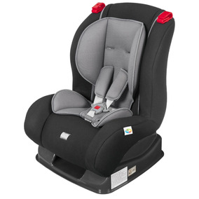 Cadeirinha Reclinável Bebê Atlantis Preta Cinza Tutti Baby