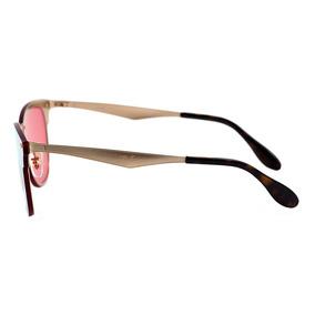 Rayban Blaze Clubmaster Rosa - Óculos no Mercado Livre Brasil c147f0ad31