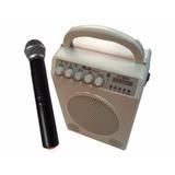 Parlante Gbr Portátil 50rms + Microfono Inalámbrico #6