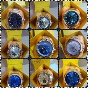 Exclusivo Lote C/ 6 Relógios Masculino Luxo + Caixa Revenda