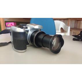 Câmera Digital Ge X500 Prata C/ 16mp, Lcd 2.7 , Zoom Óptico