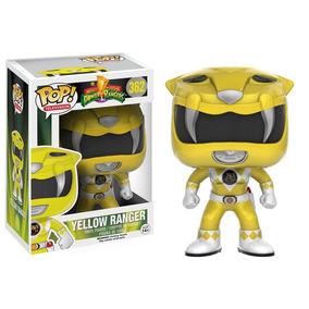 Pop Funko Power Rangers Amarela Coleção Pr