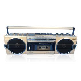 Antigo Rádio Gravador Toca Fitas K7 Relíquia Retrô Anos 80s