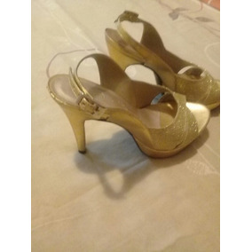 a4fbefcf19d Tacones Dorados - Zapatos Mujer en Zulia en Mercado Libre Venezuela