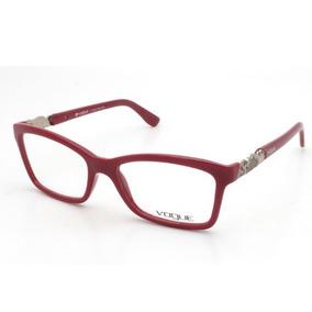 62b8662d19183 Oculos De Grau Feminino Vermelho Vogue - Óculos no Mercado Livre Brasil