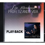 Cd Playback Léa Mendonça Profetizando Vida