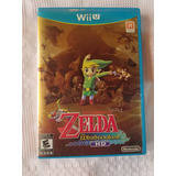 Juego Nintendo Wii U Zelda Wind Waker Hd Completo