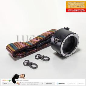 Porta Lentes 2x1 P/ Nikon Suporte Alça Colorida 12x S/juros