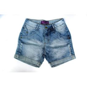 Short Jeans Gordinha Plus Size Hot Pans Moda Promoçao