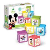 Bimbi Disney Baby 5 Cubos Didacticos Mickey Mundo Manias