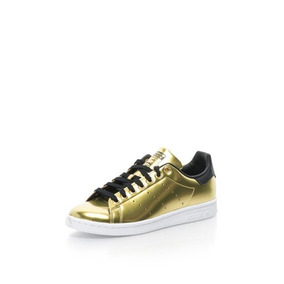 Tenis adidas Originals Stan Smith W Goldmt/goldmt Nasotafi2
