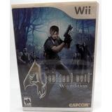 Juego Resident Evil Funcional Wii Nintendo