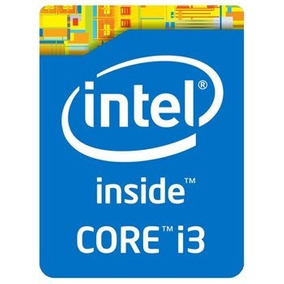 Calcomania Intel I3 Original
