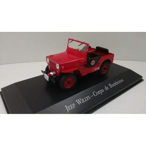 Coleção Veículos De Serviço Jeep Willys - Corpo De Bombeiros