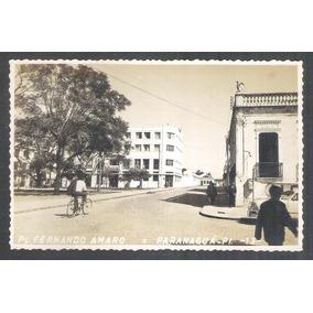 Foto Postal 13, Paranaguá, Praça Fernando Amaro, Anos 50.