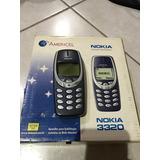 Celular Nokia 3320 - Funcionando