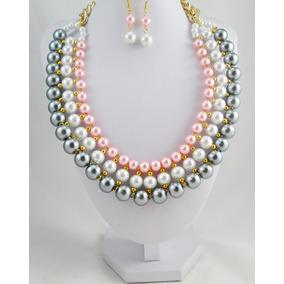 b604cbedcc82 Bisuteria Fina - Collares y Cadenas Perlas en Mercado Libre México