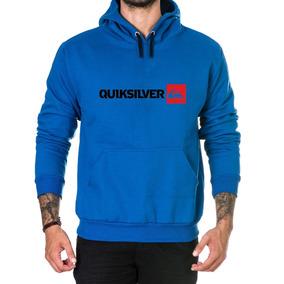 Blusa De Frio Quiksilver - Calçados, Roupas e Bolsas Azul no Mercado ... b0452dd975
