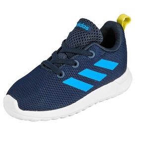 Tenis adidas Lite Racer Cln Bb7056 Marino-azul Niño Pv