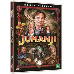 Dvd Jumanji - Robin Willians Original Novo