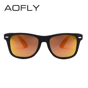 Óculos De Sol Polarizado Aofly Masculino Feminino Orange 458be14ce5
