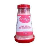 2 Saleiros Com Sal Rosa Do Himalaia Moido Com 75g Cada