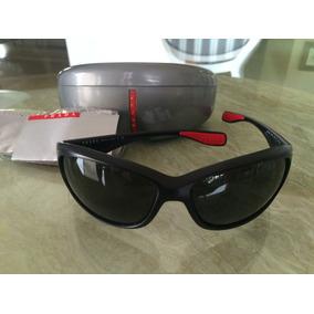 bd53630cbe0fe Oculos Prada Preto E Vermelho De Sol - Óculos no Mercado Livre Brasil