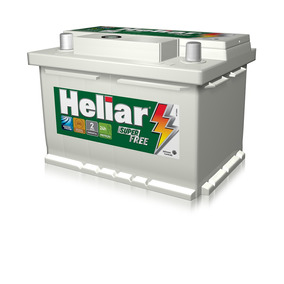Bateria Automotiva 12v 60ah Heliar Promoção