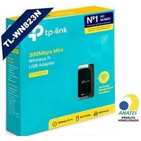 Mini Adaptador Usb Wireless N300mbps Tp-link Tl-wn823n