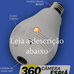 Kit 1 : Câmera Espiã 360 Wifi