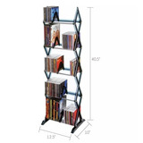 Librero Torre Dvd Cd Videojuegos *envio Gratis