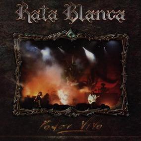 Cd Rata Blanca Poder Vivo Open Music Sy