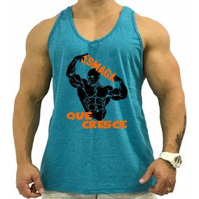 f897474620aa0 Regata Masculina Cavada Oceano Esmaga Que Cresce Biceps Dupl