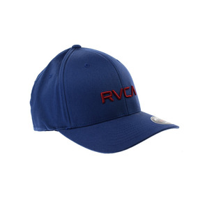 Gorra Rvca Azul Original Flexfilt Delta Para Caballero cda13234147