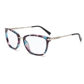 0160be3c1bf9a Armação Para Óculos De Grau Colcci Demi Marrom Frete Grátis - Óculos ...