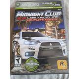 Midnight Club Los Angeles Xbox 360 Barato