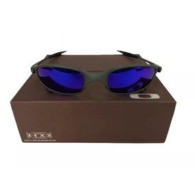 e3607101efab0 Óculos Oakley Juliet Polarizado Cinza Com Lente Azul De Sol - Óculos ...