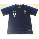 Kit Infantil França  9 Giroud - Tamanho 8 Anos - P. Entrega 52af8c2f3660e