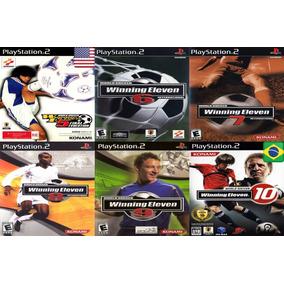 b692a58747 Jogo Winning Eleven Playstation 2 Original - Games no Mercado Livre ...