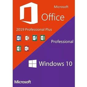 Windows 10 Pro Office 2019 Pro Plus Chave Licença Download