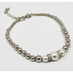 0ef799a492e2 Perlas Bolitas Mostacillas - Pulseras de Plata en Mercado Libre ...