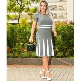 Vestido Mid M/m Moda Evangelica 36/38/42/44