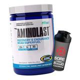 Aminolast 420g - Gaspari Nutrition Bcaa Importado + Shaker