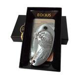Encendedor Metalico Eqqus Cuchillo Diseño Harley-davidson